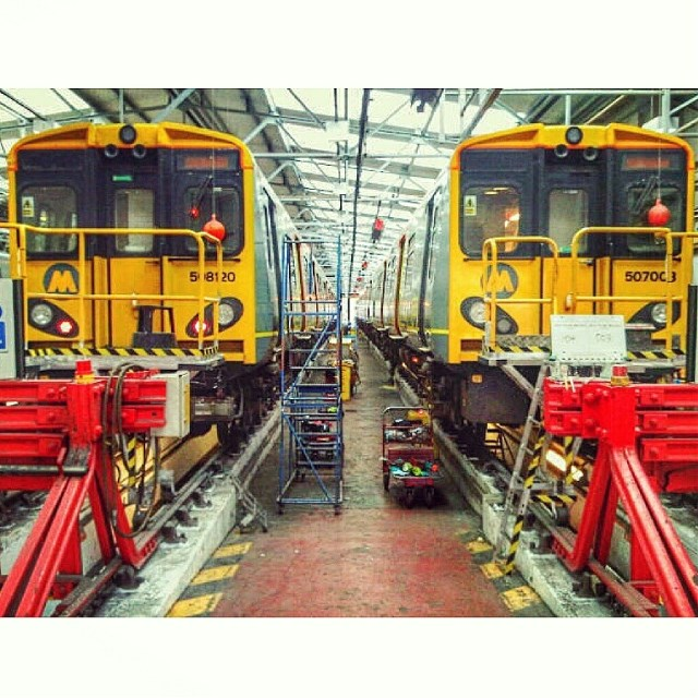 Merseyrail - Birkenhead North Train Depot Tour