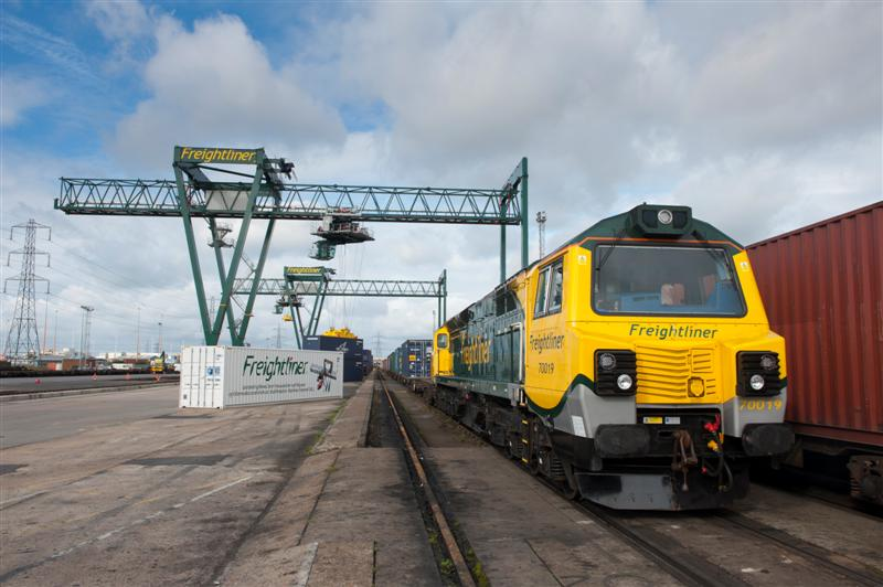 Freightliner Southampton Terminal opens its doors to local students