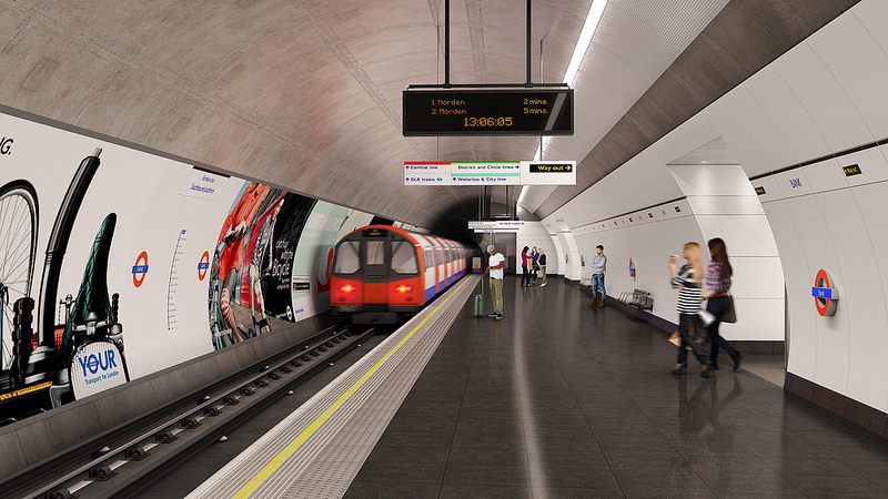 Bank-ing on success – London's latest Station Upgrade (Presentation & Tour)