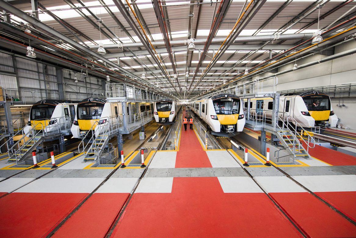 Siemens Depot Open Day - Three Bridges Maintenance Facility