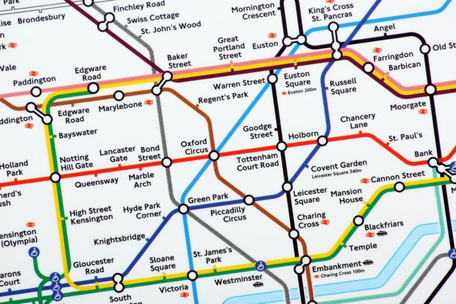 London Underground Virtual Treasure Hunt