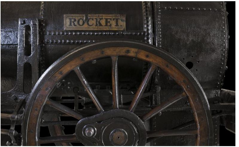 Welcome to Rail (North West): Meet Rocket - the first locomotive!