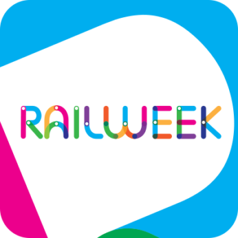 Rail Week Twitter logo